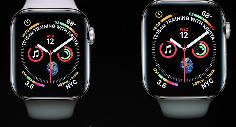 Apple has unveiled a new Watch at their iPhone launch event in California.