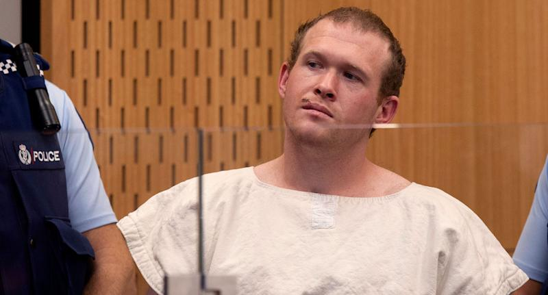 Accused Christchurch Mosque shooter Brenton Tarrant shown as letter sent from jail emerges.