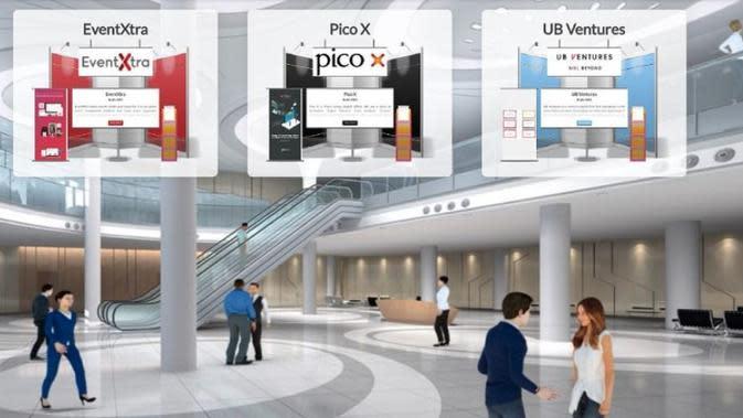 EventExtra, startup asal Hong Kong yang telah menjangkau 102 kota di 12 negara ini menghadirkan pameran virtual (Dok.EventExtra)