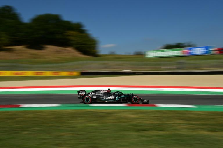 Bottas completes practice clean sweep for Mercedes