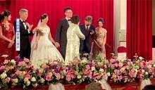 竟是親戚!呂秀蓮婚宴致詞 預言朱進總統府