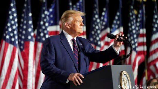 Pilpres AS: Donald Trump Resmi Terima Pencalonan dari Partai Republik