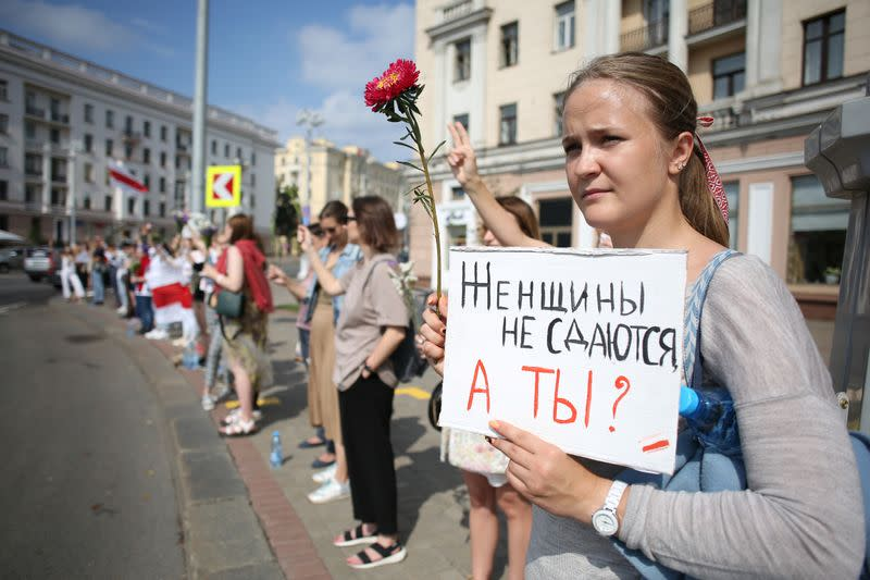 Belarus opposition summoned; Kremlin seen standing by weakened Lukashenko