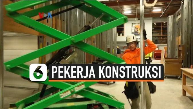 VIDEO: Makin Banyak Perempuan Jadi Pekerja Konstruksi