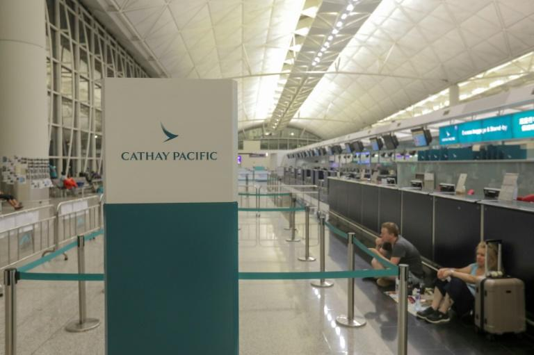 Cathay Pacific reports first-half loss of US$1.27 billion