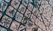 巴塞隆納空拍照驚艷!網推高雄比美