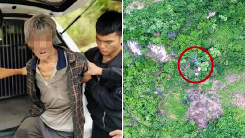 Chinese fugitive who evaded police for 17 years found in cave