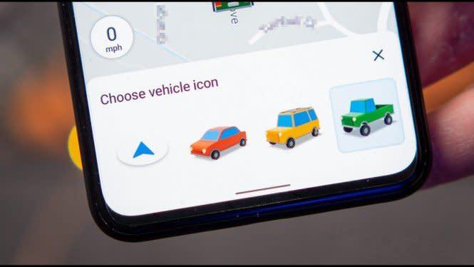 Google Maps untuk Android Diam-diam Menambahkan Ikon Mobil Baru