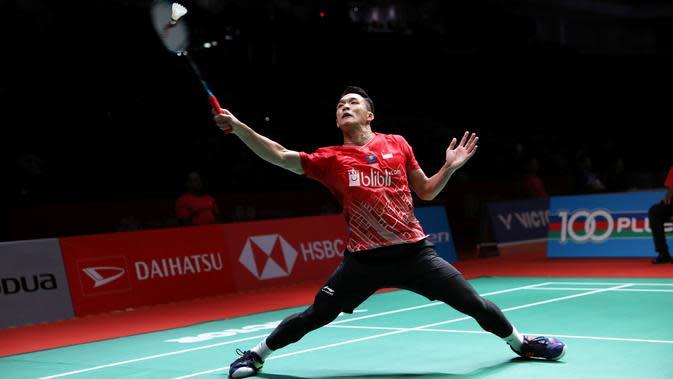 Jonatan Christie di Malaysia Masters 2020. (PBSI)