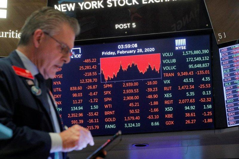 Wall Street dibuka merosot tertekan penurunan saham teknologi utama