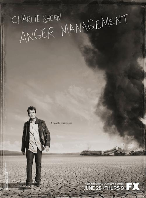 Exclusive: Check Out the Poster for Charlie Sheen's FX Comedy 'Anger Management'