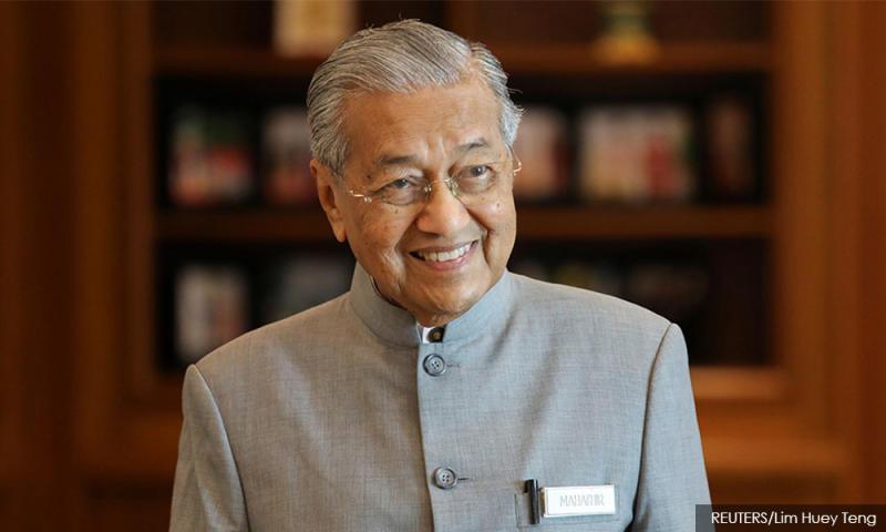 Mahathir turns 95 today