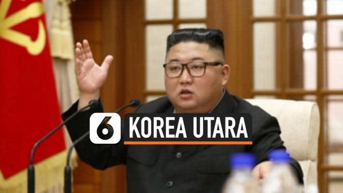 VIDEO: Kim Jong Un Adakan Pertemuan Penting Bahas Pencegahan Covid-19