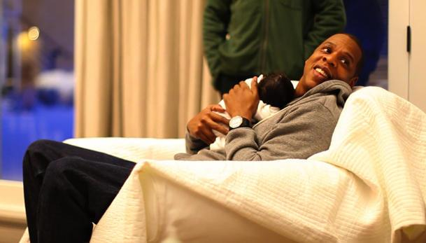 Jay-Z Foresees Himself Spoiling Daughter Blue Ivy