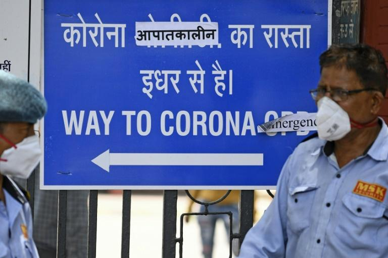 Hospitals in Delhi are full, mortuaries are overflowing with bodies and cemeteries and crematorium staff say they cannot keep up with the backlog of coronavirus victims