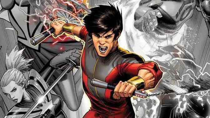 Karakter komik Shang-Chi. (Marvel)