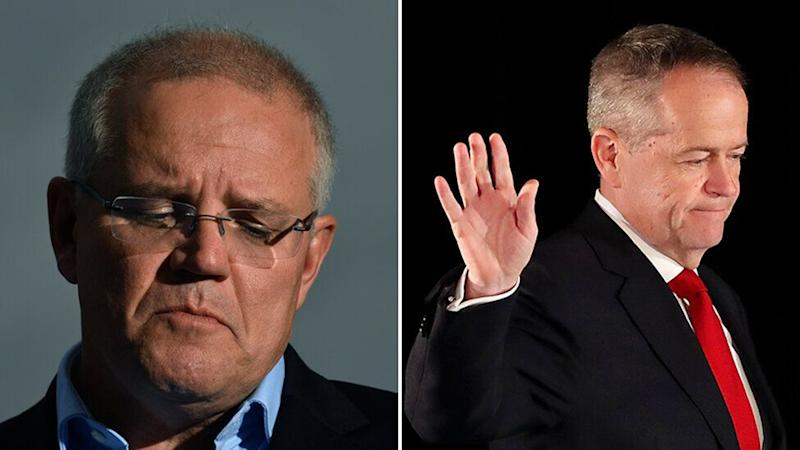 When Scott Morrison won the election, Bill Shorten stepped down from the Labor leadership. Source: AAP