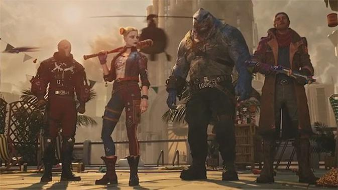 Pengembang Seri GTA 5 Umumkan Gim Suicide Squad: Kill the Justice League