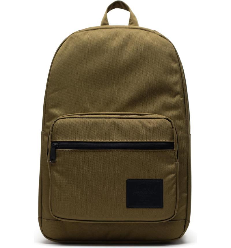 Herschel Pop Quiz Backpack in Khaki Green