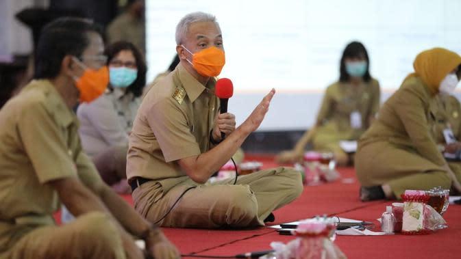 Gubernur Jateng Dialog dengan Perwakilan Buruh dan Pengusaha di Jawa Tengah