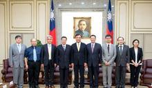 接見6被提名人 蘇嘉全:期許中選會讓民主更穩固