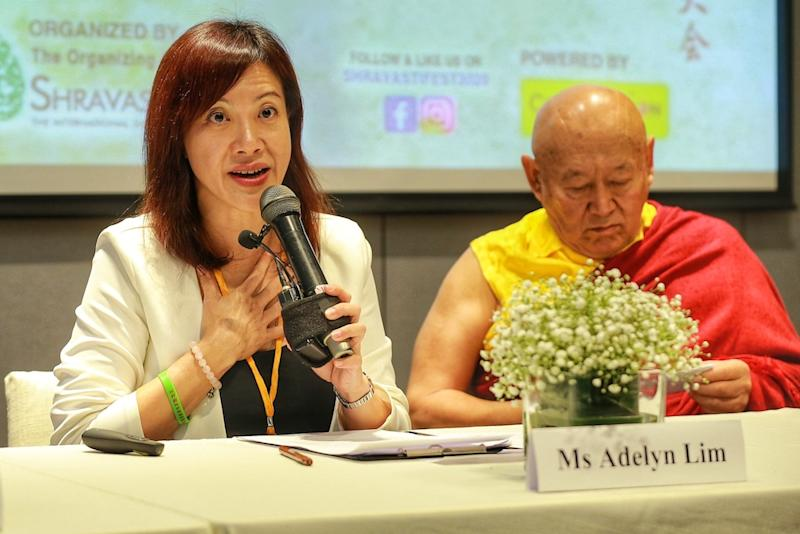 Shravasti Fest 2020 organising committee chairman Adelyn Lim hopes the festival will serve as a platform for young Buddhists to learn and contribute to the community. — Picture by Ahmad Zamzahuri