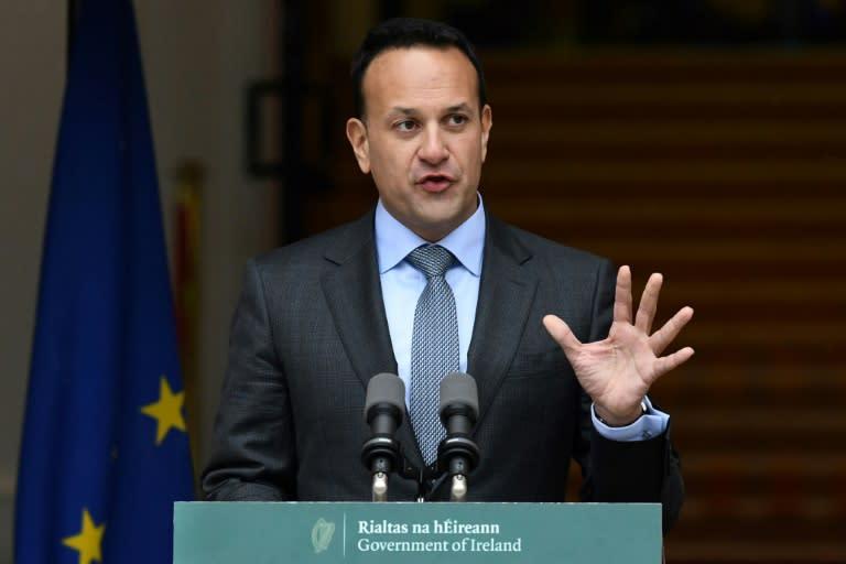 Ireland's former prime minister Leo Varadkar said the coalition deal had ended 'civil war politics'