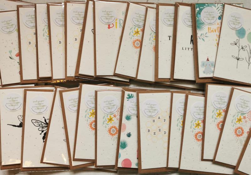 Little Green Paper Shop cards. (Image via Little Green Paper Shop)