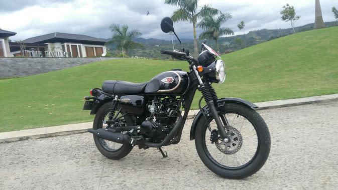 Kawasaki W175 (Arief A/Liputan6.com)