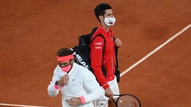 Final French Open 2020, Rafael Nadal vs Novak Djokovic