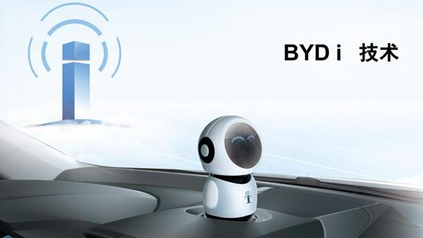 Chinese car maker BYD to offer pop-up talking robot in dashboard
