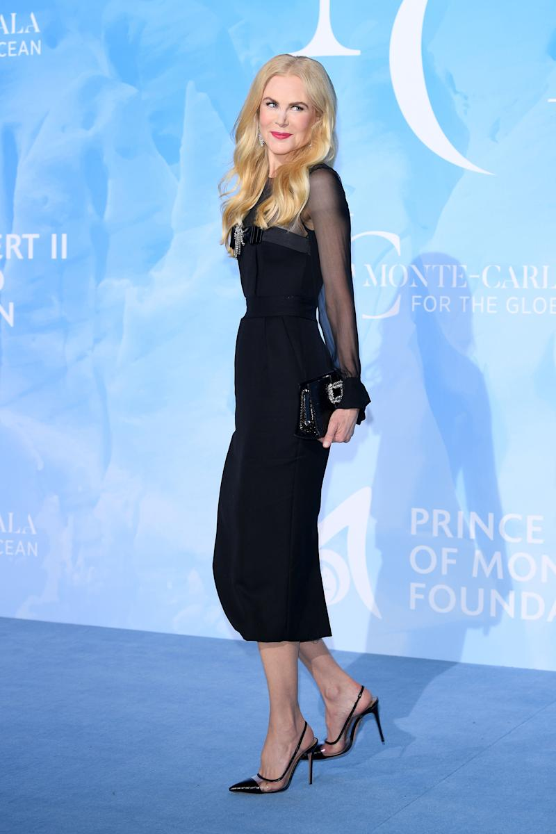 Nicole Kidman at the Monte-Carlo Gala for the Global Ocean 2019
