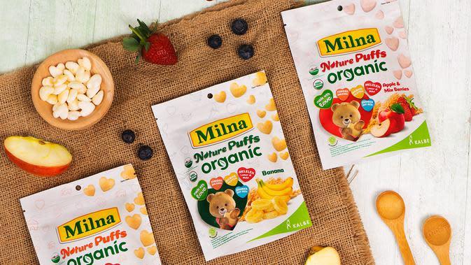 Milna Nature Puffs Organic | WORLDWIDE COMMUNICATIONS (WWCOMM)