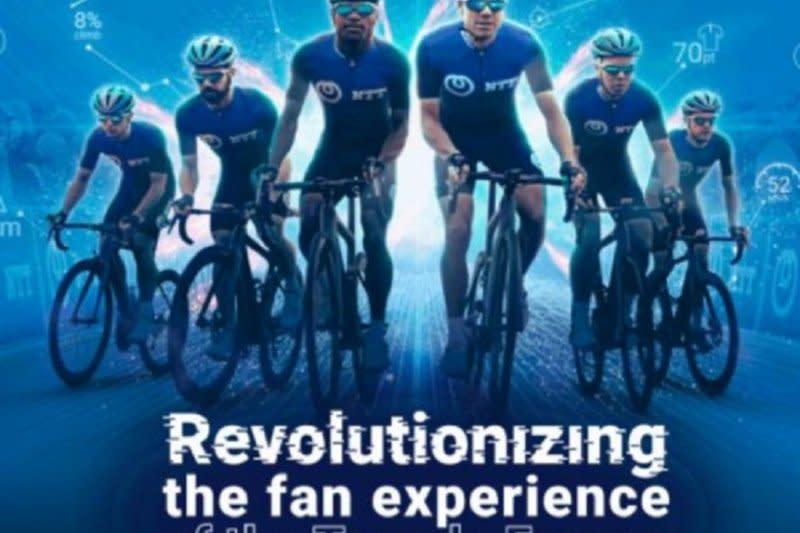 NTT hadirkan pengalaman virtual stadion global melalui Tour de France