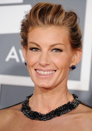 Faith Hill Rocks Braces at Grammys
