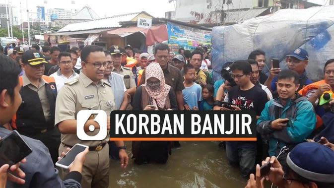 VIDEO: 243 Korban Banjir Jakarta Gugat Gubernur Anies Rp 42,3 Miliar
