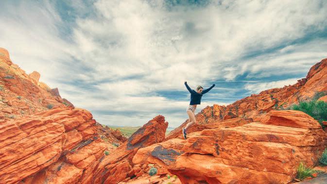 Ilustrasi sukses ketika orang menikmati hidup. (Sumber Pexels/Stokpic)