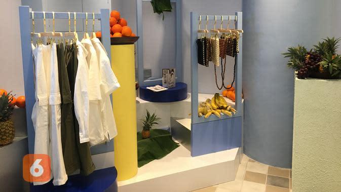 Desain interior butik 3Mongkis. (Liputan6.com/Putu Elmira)