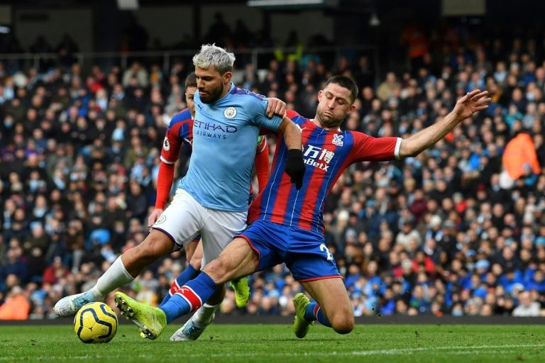 Manchester City were held to a draw by Crystal Palace