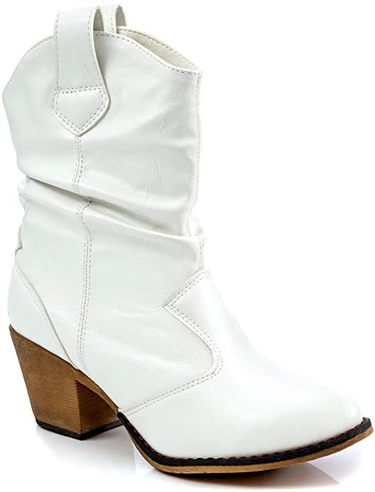 Charles Albert Women's Modern Western Cowboy Boot. Image via Amazon.