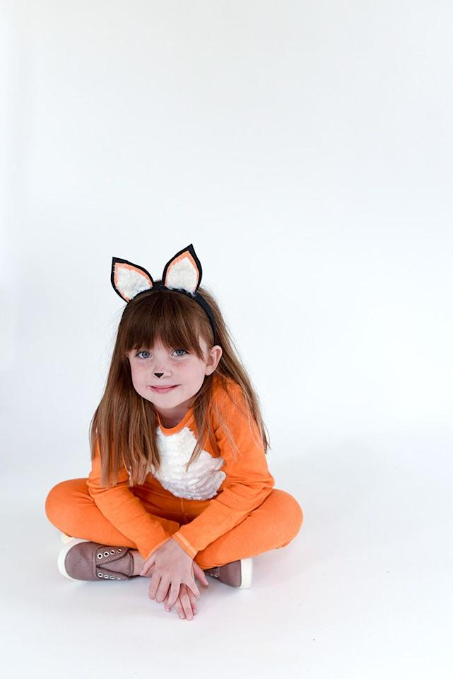 "<p>With just a simple drawn-on nose, ears, and an orange outfit, you've found the perfect halloween costume for school. </p><p><em><a href=""https://www.aliceandlois.com/easy-diy-fox-costume/"" target=""_blank"">See more at Alice and Lois »</a></em><a href=""https://www.aliceandlois.com/easy-diy-fox-costume/"" target=""_blank""> </a><a href=""https://www.aliceandlois.com/easy-diy-fox-costume/"" target=""_blank""> </a> </p><p><strong>RELATED:</strong> <a href=""https://www.goodhousekeeping.com/holidays/halloween-ideas/g385/popular-kids-halloween-costumes/"" target=""_blank"">65 Kids' Halloween Costume Ideas for Easy, Creative, and Unique Trick-or-Treating</a></p>"