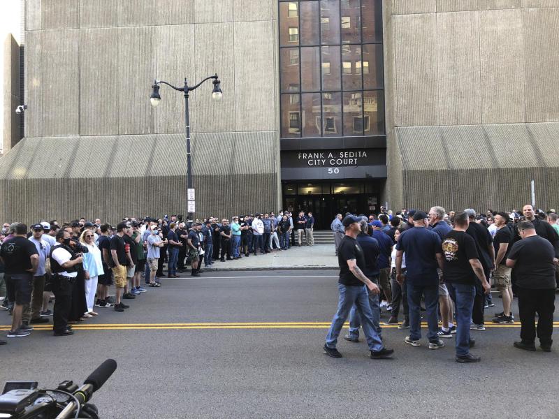 America Protests-Buffalo Police