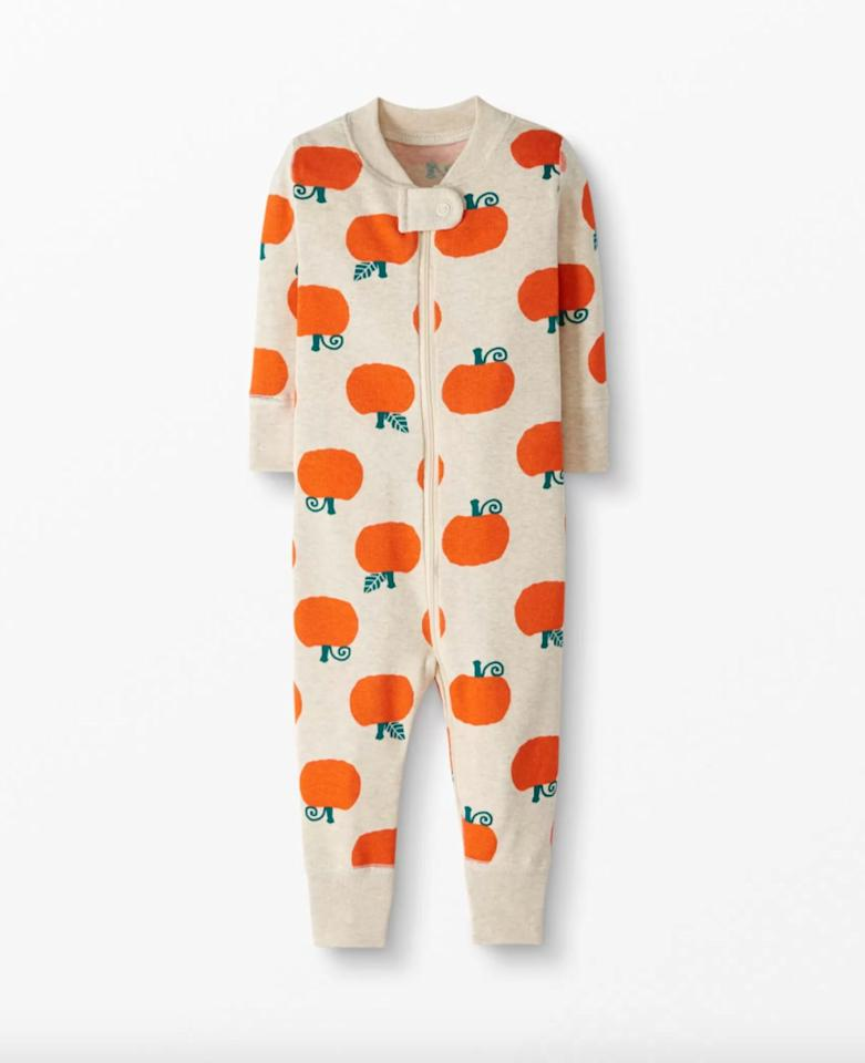 """<p>Snuggle your little ones up a sweet <product href=""""http://www.hannaandersson.com/family-match-seasonal-jack-olanterns/51836-QD7.html?cgid=family-match-seasonal-jack-olanterns&amp;dwvar_51836-QD7_color=QD7"""" target=""""_blank"""" class=""""ga-track"""" data-ga-category=""""internal click"""" data-ga-label=""""http://www.hannaandersson.com/family-match-seasonal-jack-olanterns/51836-QD7.html?cgid=family-match-seasonal-jack-olanterns&amp;dwvar_51836-QD7_color=QD7"""" data-ga-action=""""body text link"""">Night Night Sleeper In Organic Cotton</product> ($30, originally $42) that's sure to keep them warm on cool fall nights!</p>"""