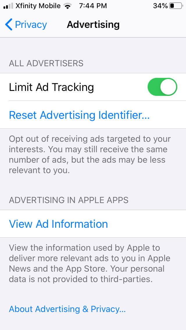 how to control ios app permissions analytics2