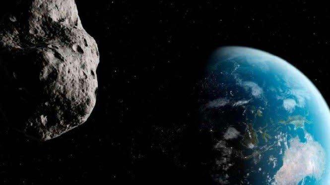 Asteroid Mendekati Bumi Usai Salat Maghrib Nanti