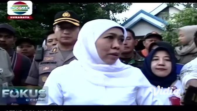 VIDEO: Tanggul Kali Lamong Bakal Dibangun dari Dana APBN Sebesar Rp 1 Triliun