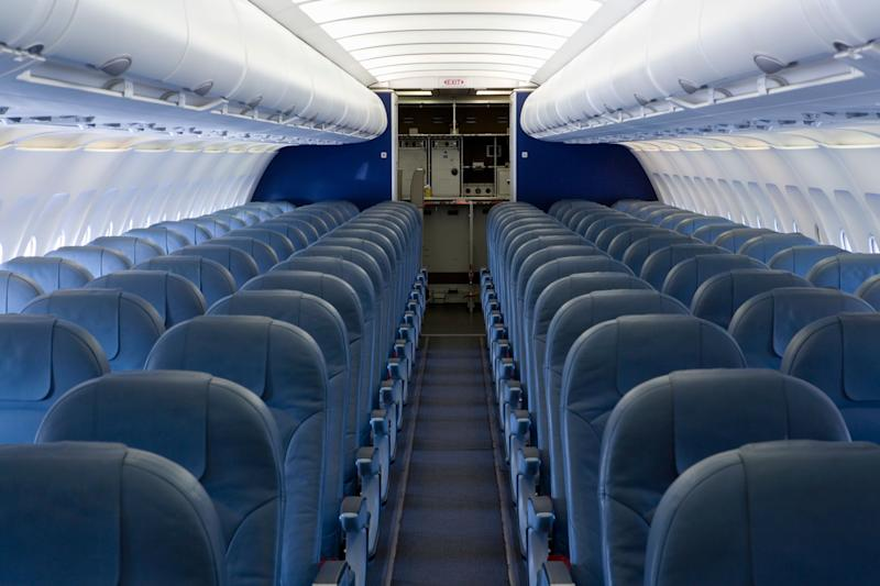 It was a 14-hour flight and the woman booked the aisle seat months in advance. Photo: Getty Images