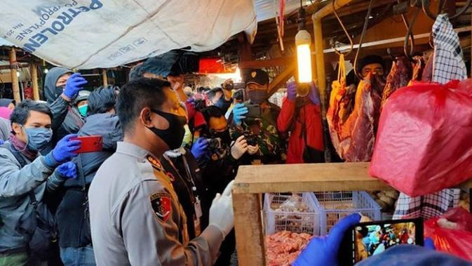 Geger Daging Babi, Ini Hasil Sidak Satgas Pangan Bandung di Pasar-Pasar