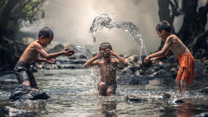 Ilustrasi air, sungai. (Sumber: Pixabay)