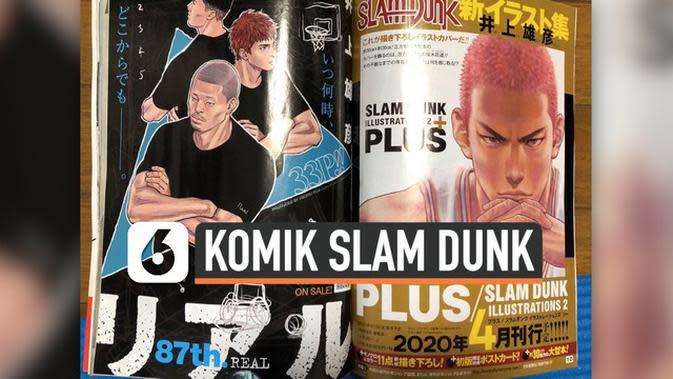 VIDEO: Lama Vakum, Komik Slam Dunk Akan Segera dirilis